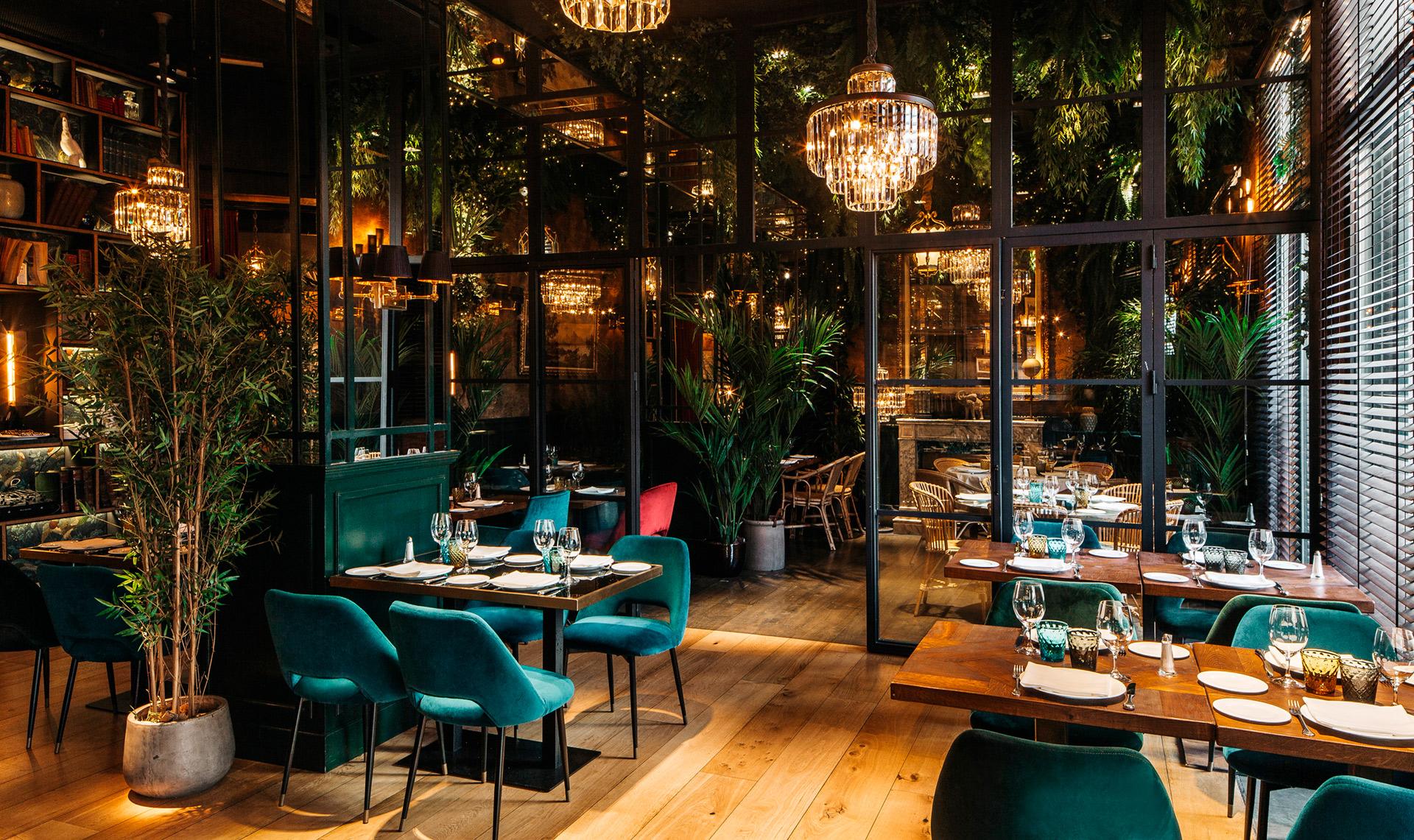 Pablo peyra interiorismo restaurante feroz barcelona for Interiorismo restaurantes