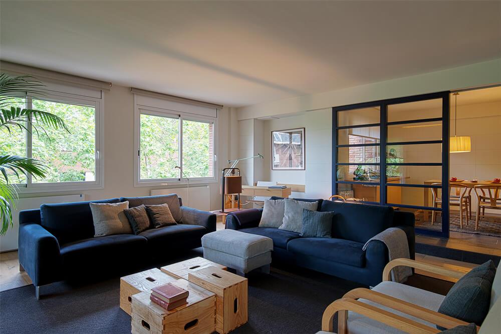 Apartamento Les Tres Torres comedor| Pablo Peyra Studio