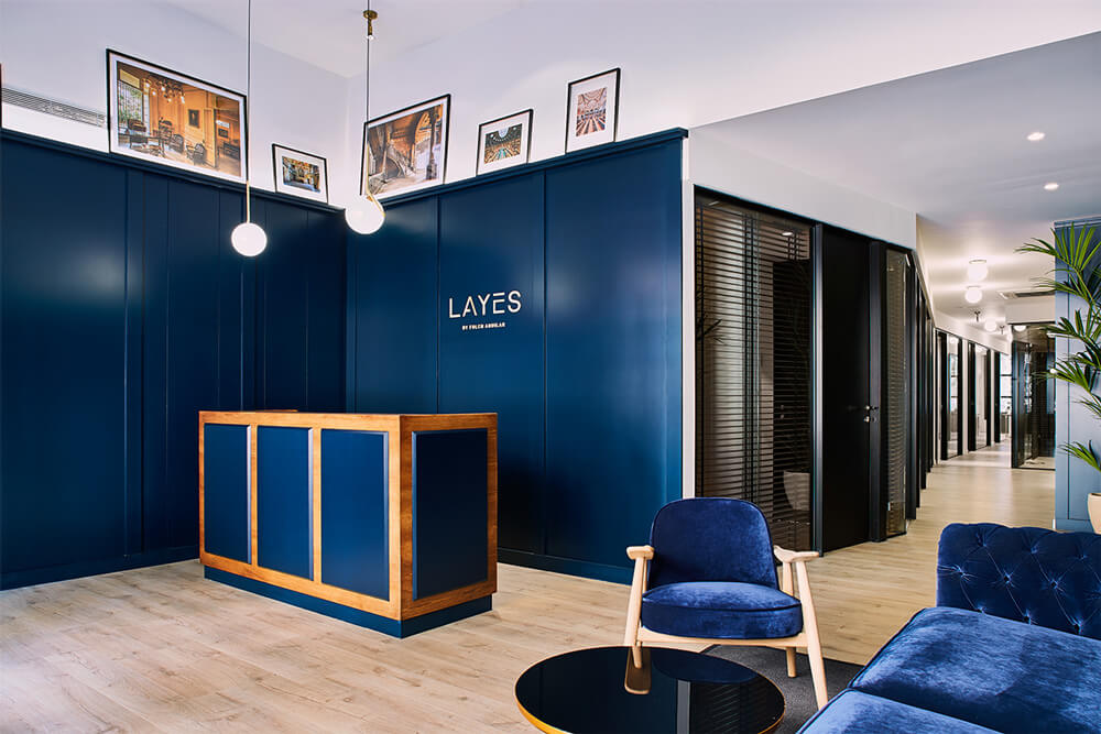 Finques Layes recepción ipad | Pablo Peyra Studio