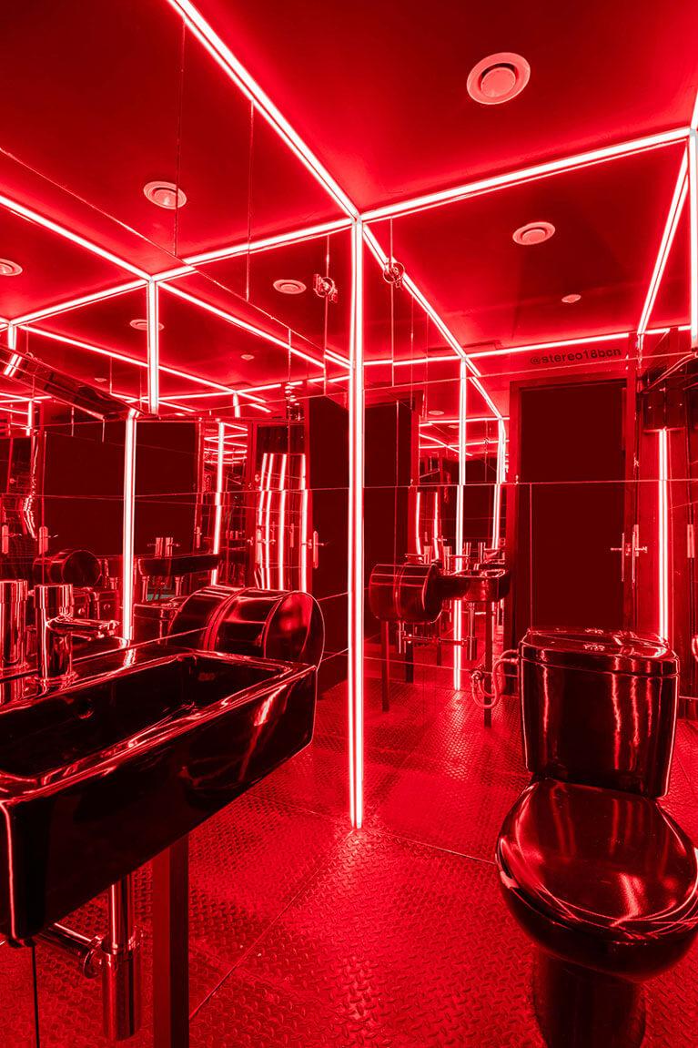 Stereo 18 iluminación | Pablo Peyra Studio