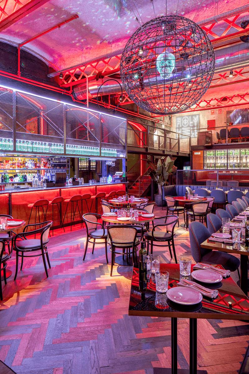 El Mama Restaurante detalle | Pablo Peyra Studio