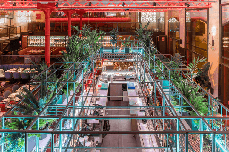 El Mama Restaurante espacio | Pablo Peyra Studio