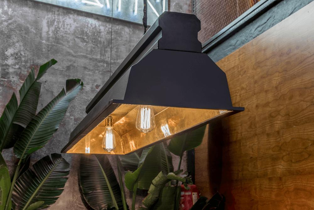 El Mama Restaurante lampara| Pablo Peyra Studio