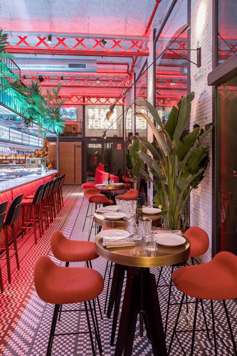 El Mama Restaurante sala | Pablo Peyra Studio