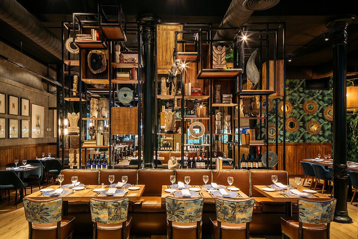Guanabara restaurante | Pablo Peyra Studio
