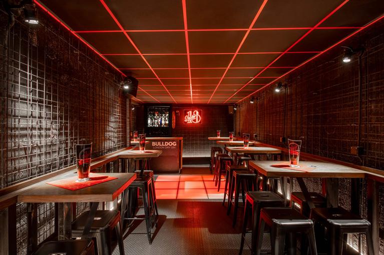 Stereo 18 restaurante | Pablo Peyra Studio