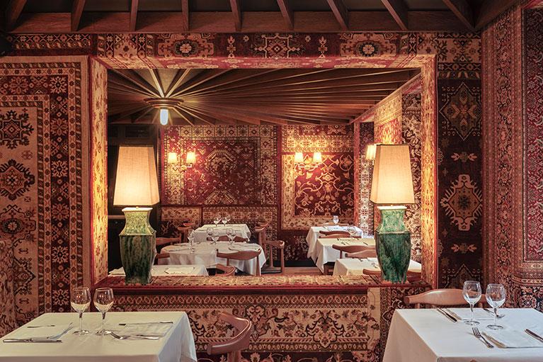 Restaurante Les 15 Nits Espejos | Pablo Peyra Studio