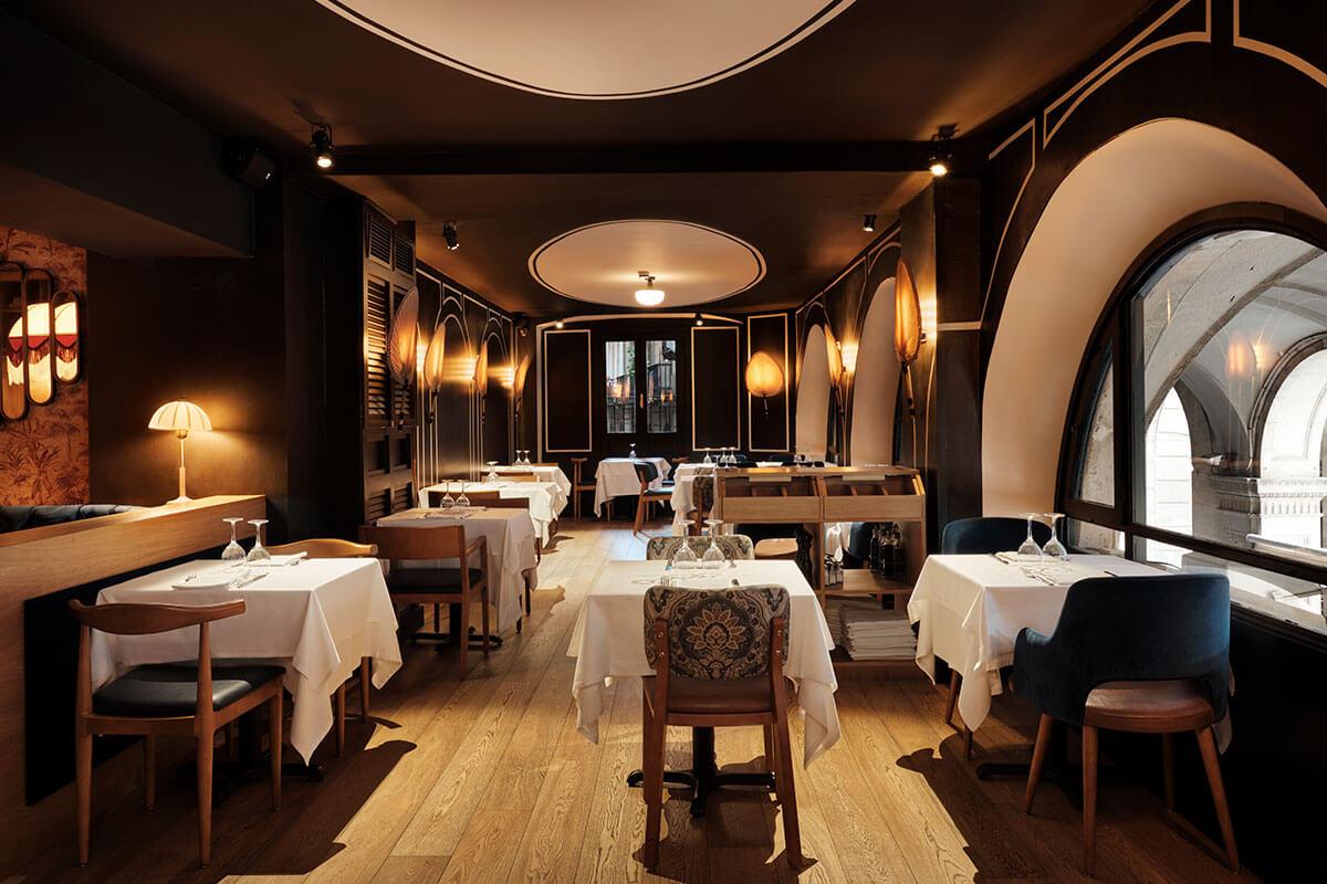 Restaurant Les 15 Nits Sala Interior | Pablo Peyra Studio