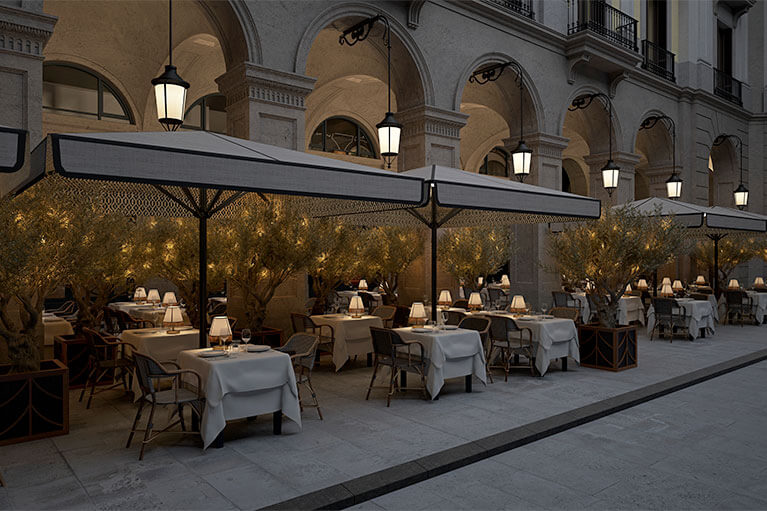 Restaurante Les 15 Nits Terrassa | Pablo Peyra Studio
